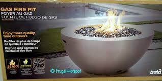 bond faux concrete gas fire pit 349 99