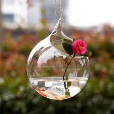 glass vase hanging terrarium glass vase