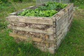 diy pallet garden how to make raised