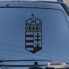 Hungary Coat Of Arms Hungarian Decal Sticker Car Vinyl Pick Size Color No Bkgrd Rainbowlands Lk