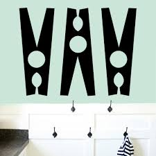 Sweetumswalldecals Clothes Pin Wall Decal Wayfair