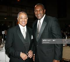 Byron Lewis, CEO/chairman of UniWorld Group and Harry Carson News ...