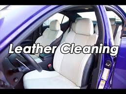 diy lexus isf leather cleaning with