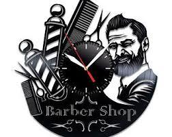 Barber Shop Decal Etsy