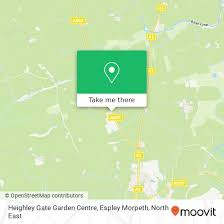 how to get to heighley gate garden