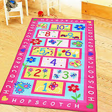 Kids Play Rug Children Road Room Mat Girls Boys Area Education Bedroom Carpet Ebay