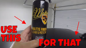 How To Clean And Protect Matte Decals Paint Wraps Youtube