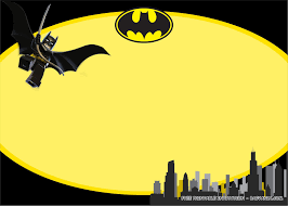 Free Printable Lego Batman Birthday Party Kits Template En 2020