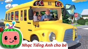 Bài hát Xe Bus Thiếu Nhi ♫ Nhạc Thiếu Nhi Tiếng Anh ♫ Nhạc Cho Bé Hay Nhất    Kids songs, Wheels on the bus, Songs for toddlers