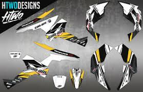 Can Am Renegade 570 800 1000 Graphic Kit Stickers Can Am Graphics Canam Decal Ebay