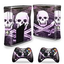 Skin Decal Wrap Cover For Xbox 360 S Slim 2 Controllers Pirate Walmart Com Walmart Com
