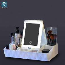desktop storage box makeup cosmetics