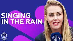 Singing in the Rain! | Elma Smit With the Fans | ICC Cricket World ...