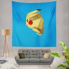 Pokémon Movie Pikachu Electric Pokemon Species Wall Hanging ...