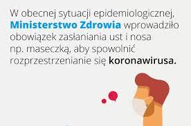 Od jutra zakrywamy nos i usta - Chojnice24.pl
