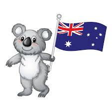 Cute Koala And Australian Flag Sticker Vinyl Car Proud Interesting Personality Car Attachment Decal Car Stickers Aliexpress