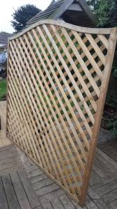 Lattice Trellis Fence Panel 1 8m X 1 8m In Me5 Chatham For 25 00 For Sale Shpock