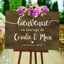 Good And Cheap Products Fast Delivery Worldwide Welcome Wedding Sign Decal On Shop Onvi