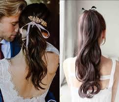 Fryzury Slubne Ze Wstazka Wiele Inspiracji Wedding Pl
