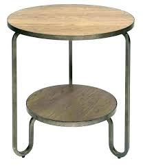 awesome round metal side table target