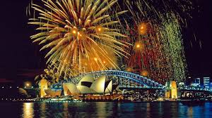 sydney harbor bridge fireworks hd