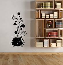 Amazon Com Vinyl Wall Decal Chemistry Science Atomic Molecule School Classroom Children S Bedroom Sticker Wall Decorative Art Mural Home Kitchen