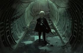 anime art the tunnel guy faiz azhar