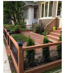 Great Fence Front Yard Landscaping Design Small Garden Fence Small Front Yard Landscaping