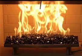 gas log sets the fireplace company