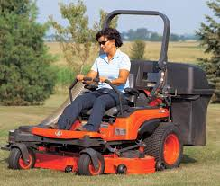 drive a zero turn mower with levers
