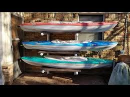 You Can Build The Best Kayak Storage Rack Cheap Easy Youtube