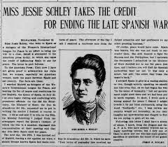 Jessie A. Schley, friend of Adele Thompson - Newspapers.com