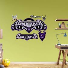 Undertaker Logo Fathead Wall Decal Wwe Logo Wall Decals Home Decor Decals