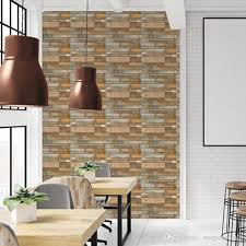 3d Stereo Brick Wall Decals Living Room Bathroom Bedroom Kitchen Tile Decor Self Adhesive Wallpaper Poster Stickers Art Decoration Decals Wall Art Quotes Wall Art Quotes Stickers From Magicforwall 2 37 Dhgate Com