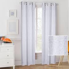 Mainstays Grey And White Dinosaur Fossils Kids Room Darkening Single Window Curtain Panel Walmart Com Walmart Com