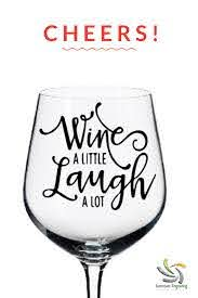 What Wine Goes Best With Turkey We Don T Know But We Do Know That These Decals Will Look Great On Any Wi Wine Glass Sayings Funny Wine Glass Wine Glass Vinyl