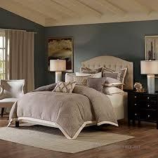 grey king size bed comforter duvet 2