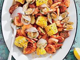 Grilled Clambake Foil Packets with Herb ...