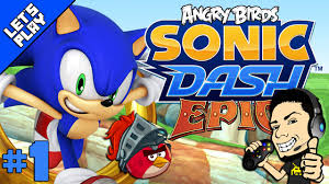 SONIC DASH | ANGRY BIRDS EPIC TAKEOVER for Android and iPhone - video  dailymotion