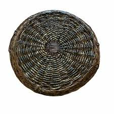 threshold woven tray basket wicker