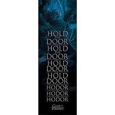 game of thrones hold the door hodor