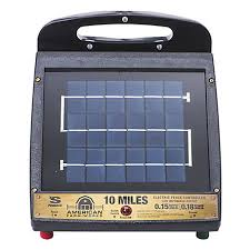 American Farmworks 10 Mile Solar Low Impedance Fence Charger Esp10m Afw At Tractor Supply Co