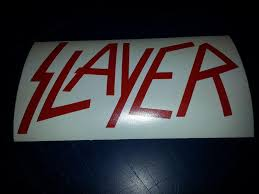 Sell Slayer Decal Window Sticker Window Decal 8 Inch Your Choice Color Motorcycle In Solsberry Indiana Us For Us 2 99