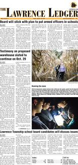 2018-10-19 The Lawrence Ledger by centraljersey.com - NEWSPAPERS - issuu