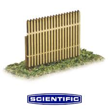 Picket Fence For Model Railroads Ho Scale By Scientific