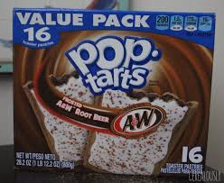 kellogg s frosted a w root beer pop tarts