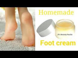 homemade foot cream heel repair