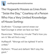 newsies quotes as harry potter houses harry potter universal