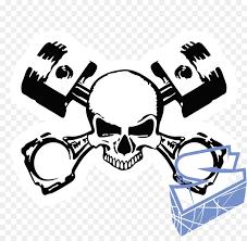 Skull Hand Clipart Car Sticker Font Transparent Clip Art