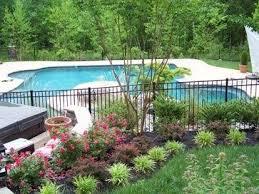 Landscaping Around Pool Inground Pool Landscaping Backyard Pool Landscaping Landscaping Around Pool